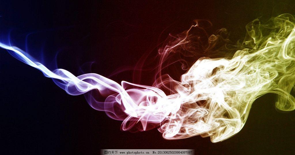 烟雾背景图片