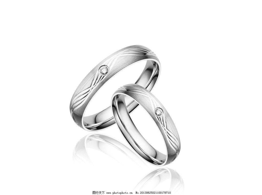 银戒指设计图图片