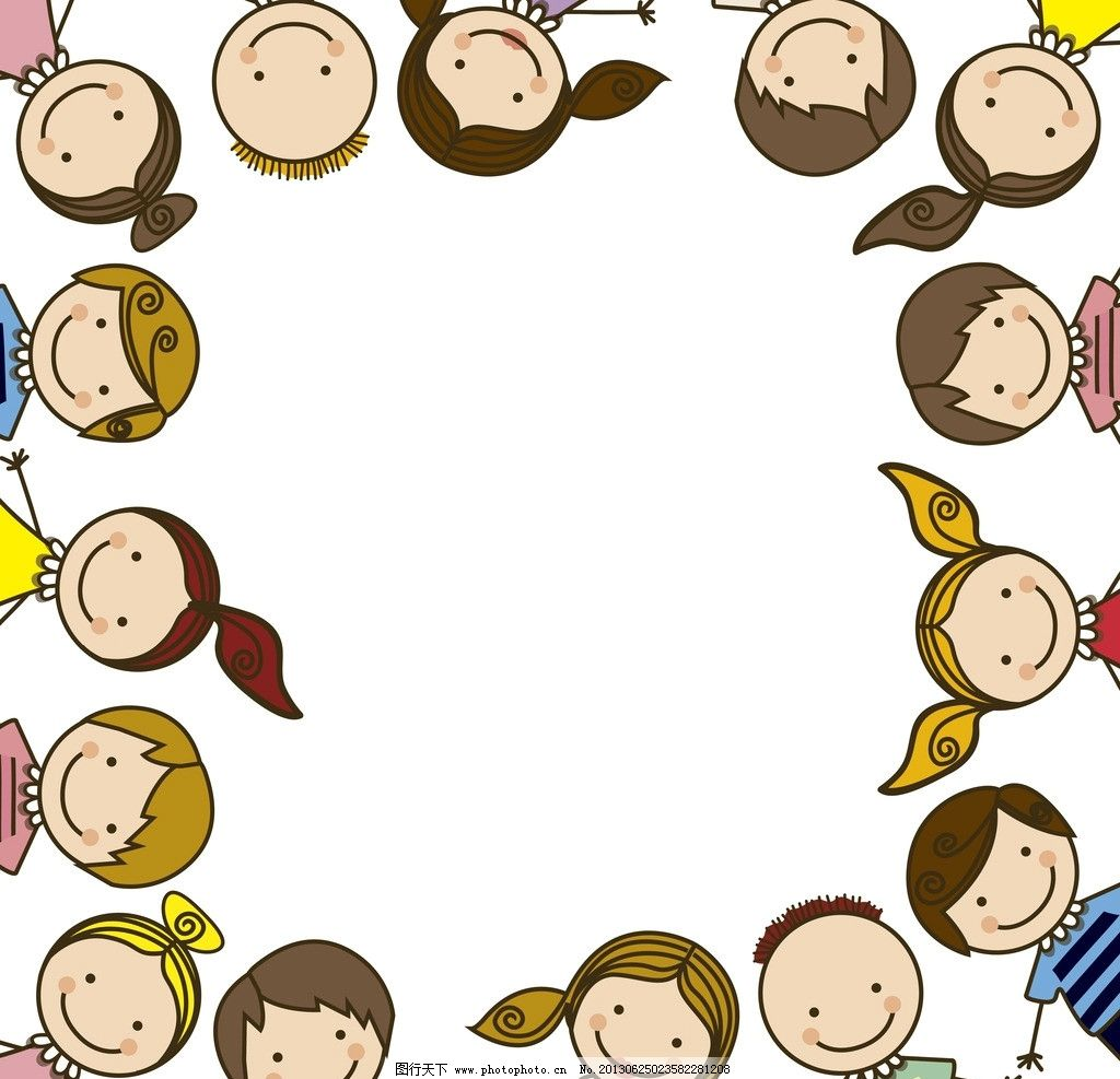 童话世界 小伙伴 卡通人物 卡通娃娃 梦想世界 儿童世界 卡通背景