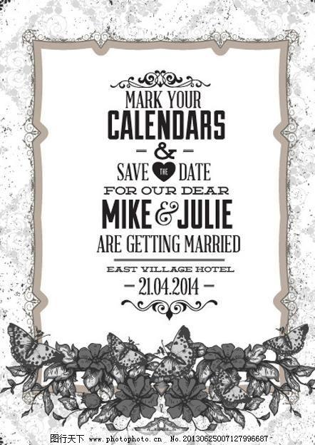 婚礼请柬背景 婚礼背景 婚礼 婚庆 结婚 请柬 邀请 丝带 欧式花纹