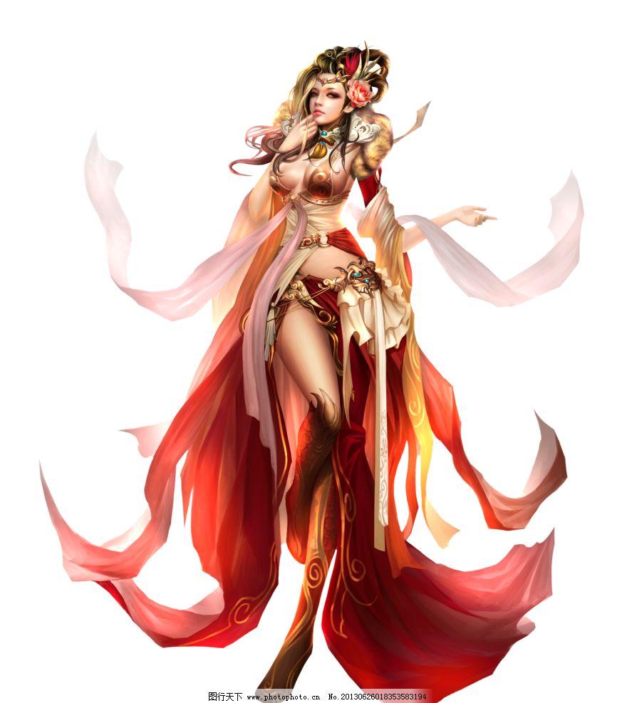 美女图 游戏 创世三国 动漫 人物 动漫人物 动漫动画 设计 118dpi png图片