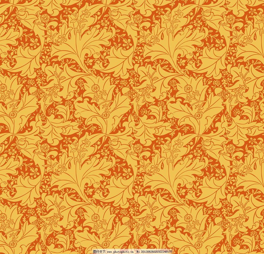 壁纸 图案 莫里斯 墙纸 设计 花边花纹 底纹边框 300dpi jpg