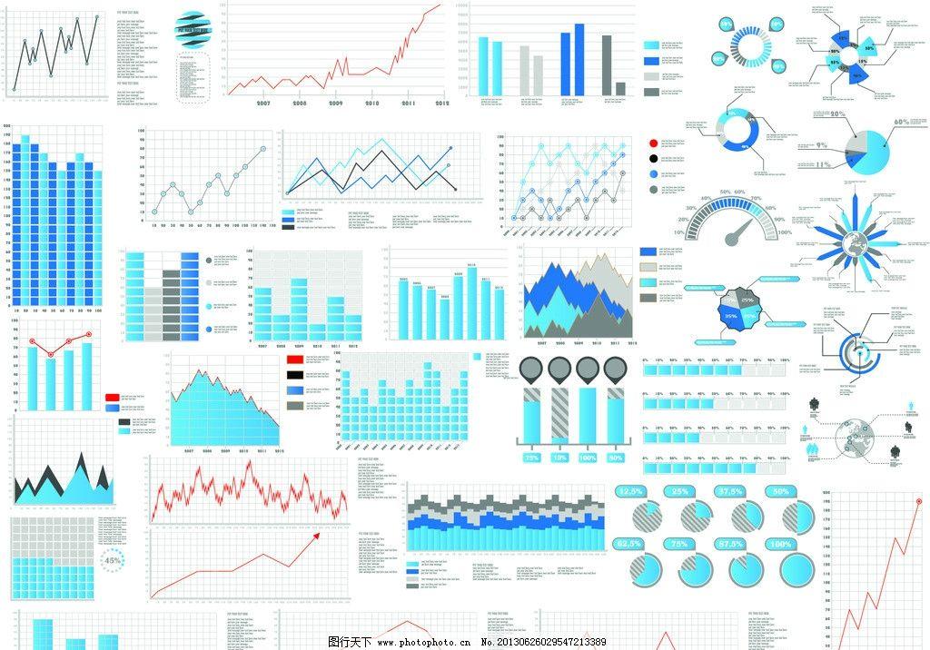 大数据统计图-共享 圆饼图片