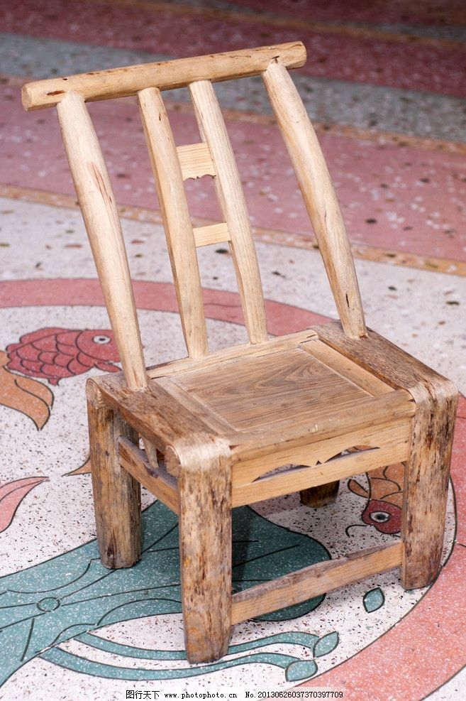 凳子 椅子 家具 木头 素材
