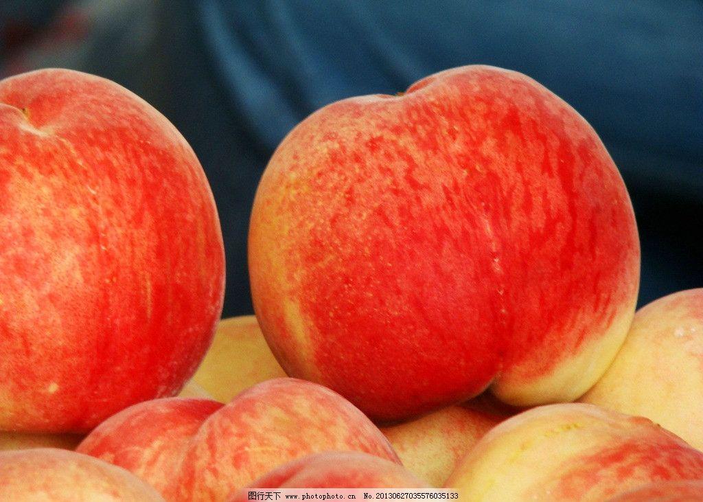 桃子 水果 蜜桃 果实 水蜜桃 生物世界 桃 摄影 72dpi jpg