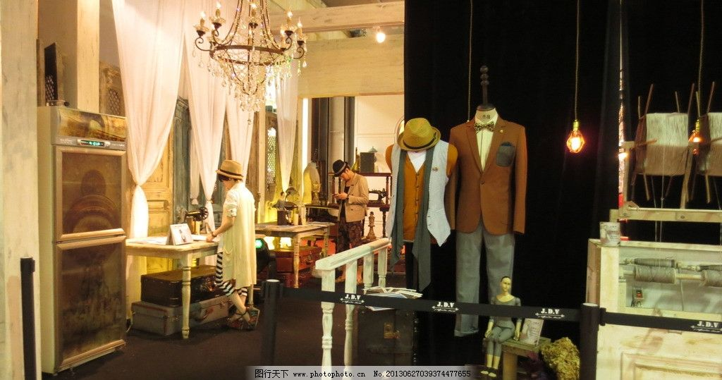 服装店 服装 衣服 欧式风格 场景 室内 室内摄影 建筑园林 摄影 180