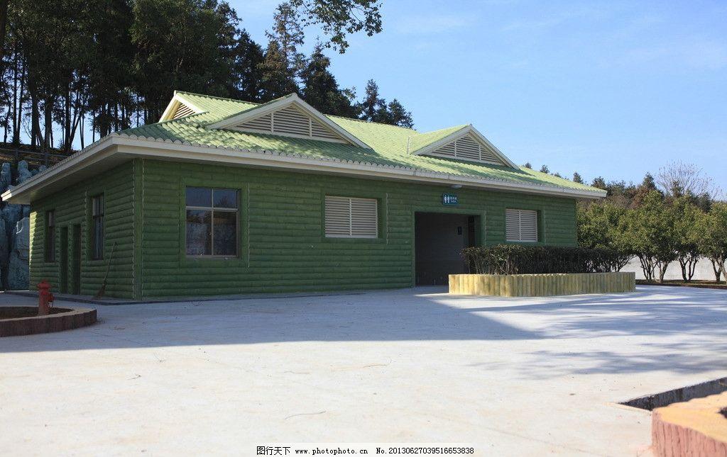 生态公厕 公厕 园林 生态 仿竹 雕塑 园林建筑 建筑园林 摄影 72dpi
