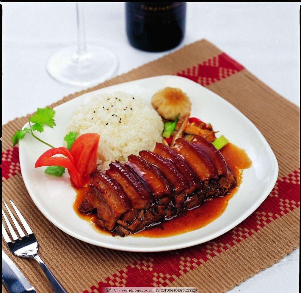 梅菜扣肉 梅菜扣肉饭 套餐饭 扣肉 快餐图片 传统美食 餐饮美食 摄影