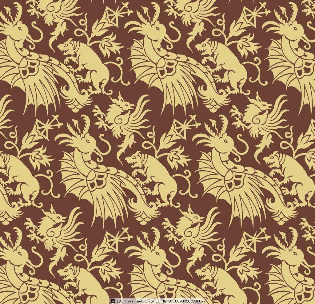 花纹壁纸 壁纸 布艺 花型 图案 设计 抽象底纹 底纹边框 200dpi jpg