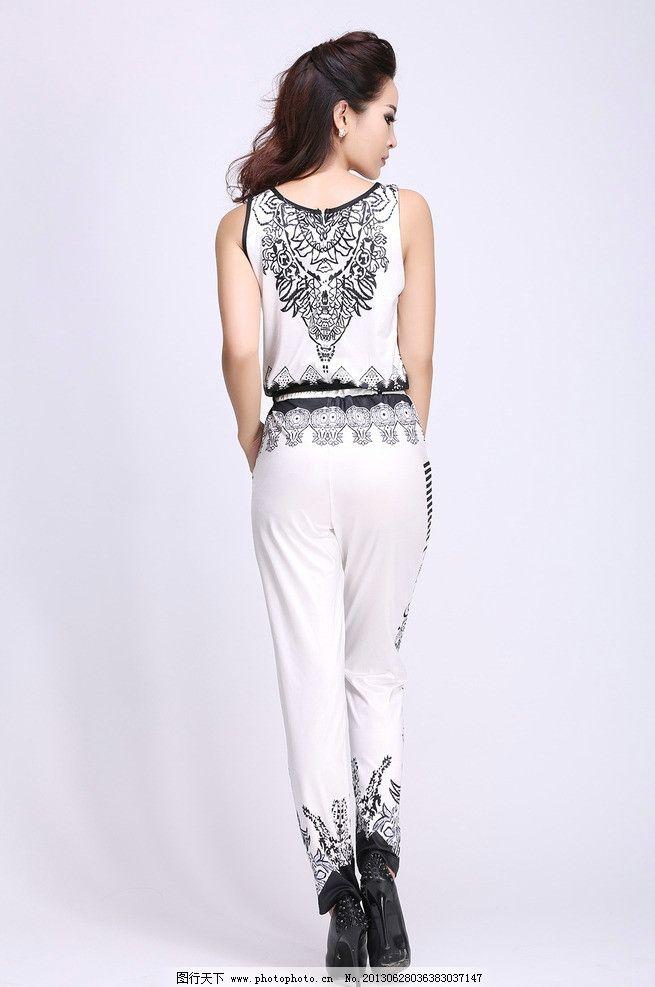 服装模特 明星同款 模特图 连体衣服 夏季新品 潮品 人物摄影 人物