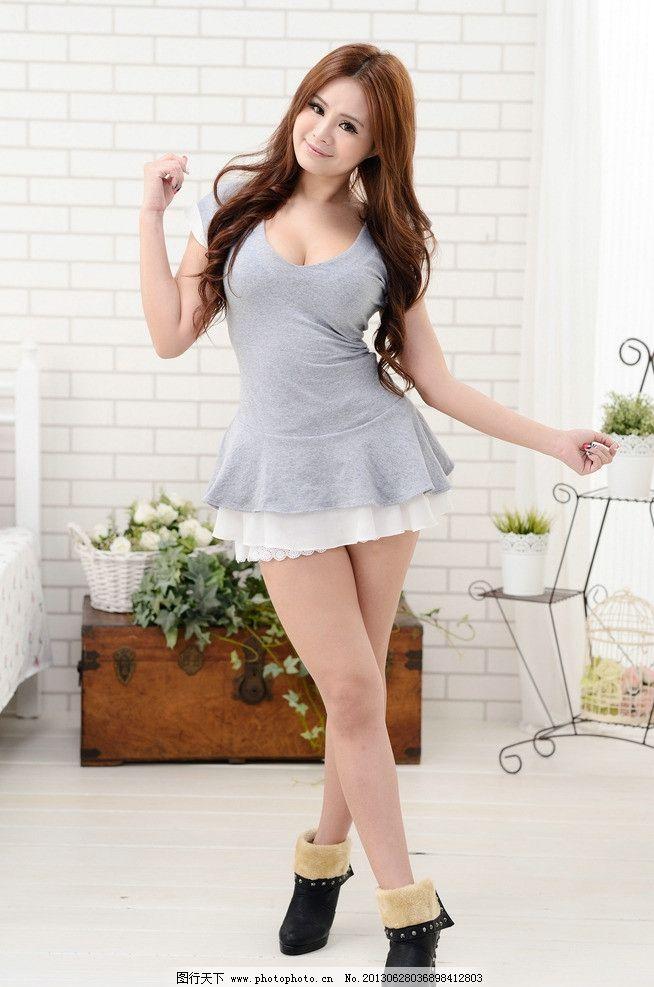 时尚美女连衣裙 连衣裙美女 气质美女 清纯美女 可爱美女 高挑白皙