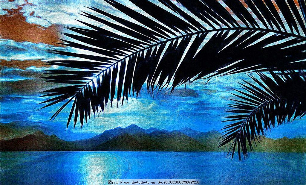 海景城市 海边风景 海水 大海 椰树 碧海蓝天 漂亮风景 美丽风景
