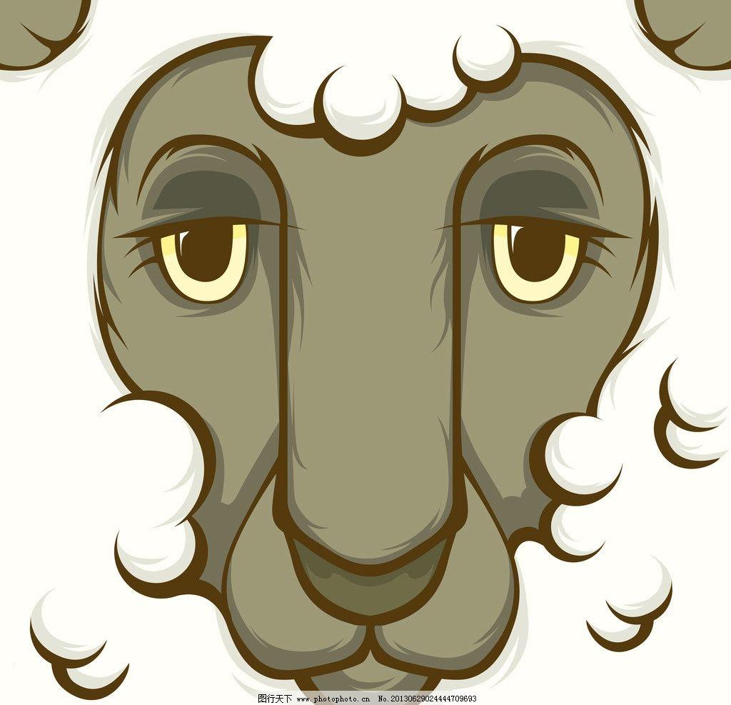 狮子脸部特写 卡通动物 野生动物 狮子 眼睛 野兽 怪兽 动物 哺乳动物