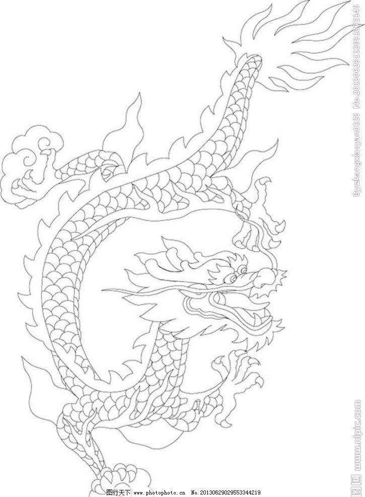 龙 矢量图 中国风 降龙 舞 广告设计 矢量 cdr