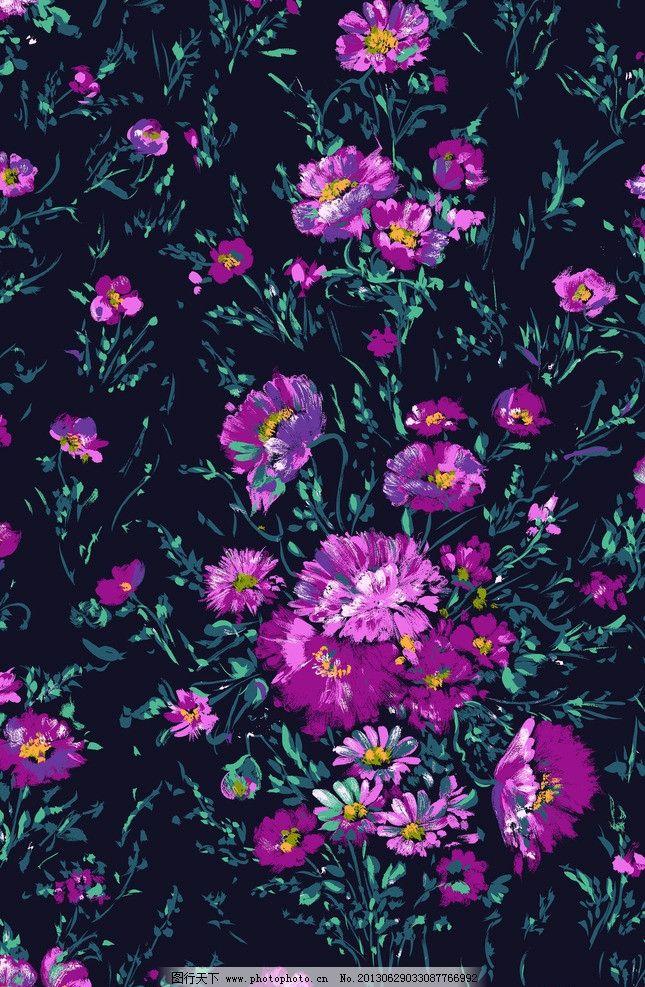 紫色花纹 花纹底色 墙纸 花纹背景 花纹素材 源文件 psd分层素材 254