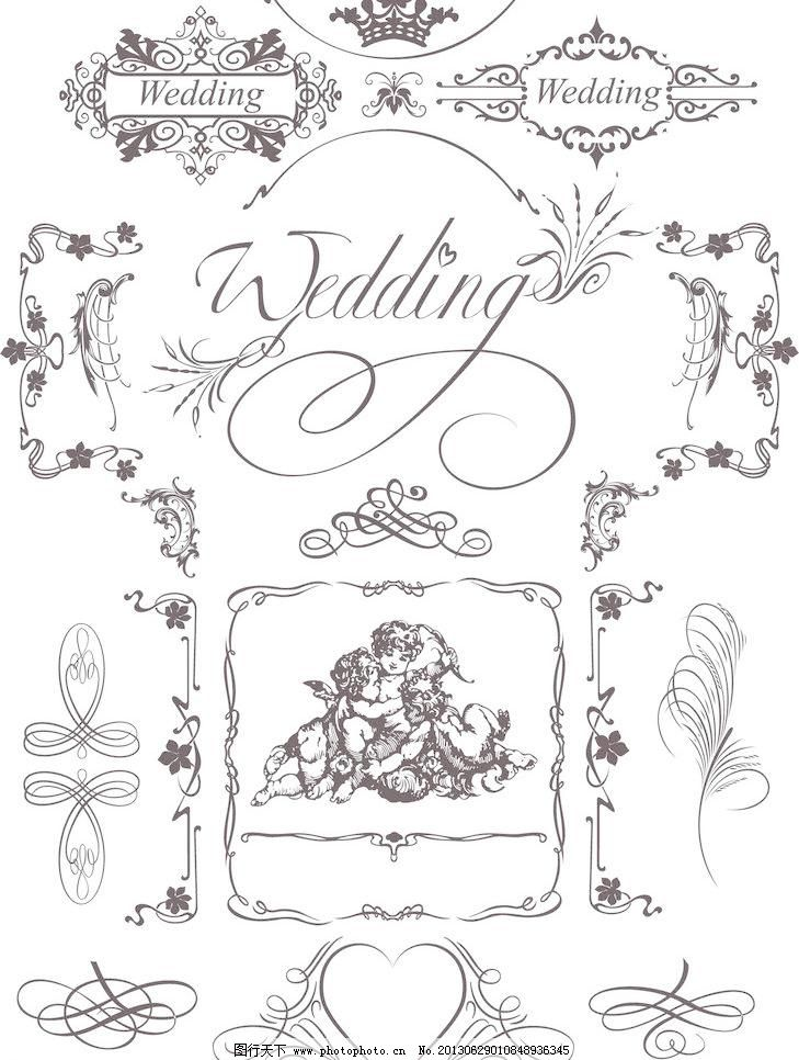 欧式花纹 欧式 古典 花纹