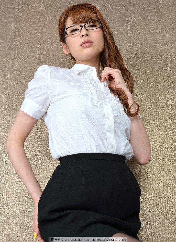 白衬衫美女 气质美女 清纯美女 性感美女 可爱美女 职业装 制服诱惑