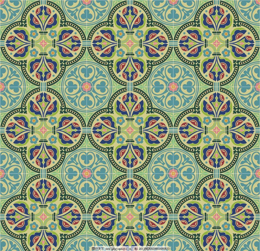 几何 现代 图案 二方连续 单独 四方连续 底纹 纺织品设计 抽象底纹图片