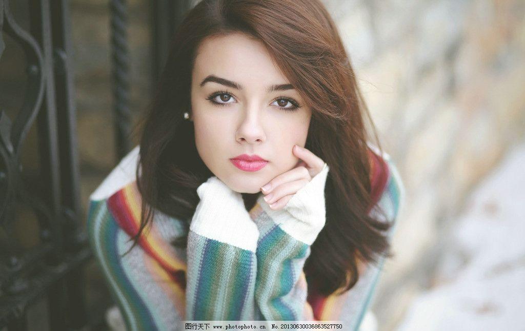 欧美美女 气质美女 清纯美女 性感美女 天生丽质 端庄优雅 女性女人